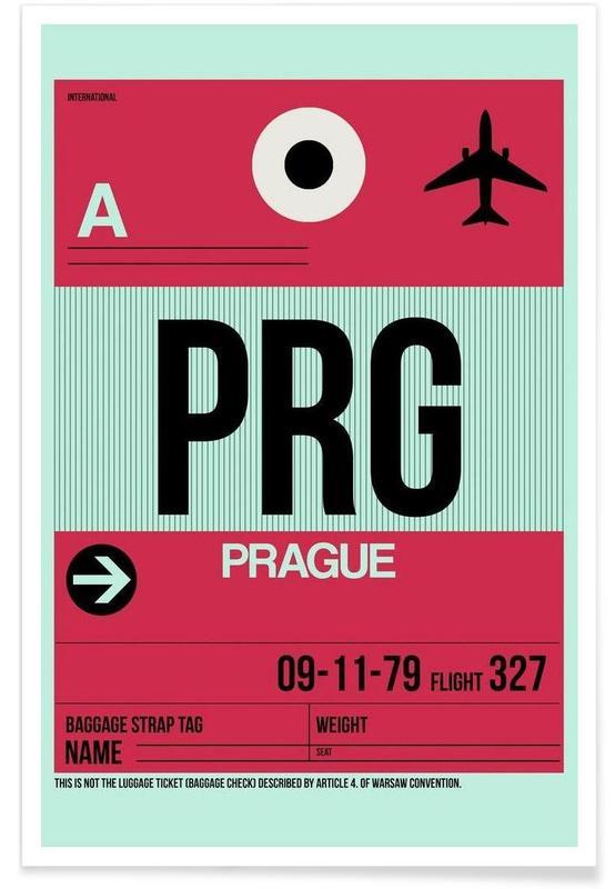 Travel, PRG-Prag Poster