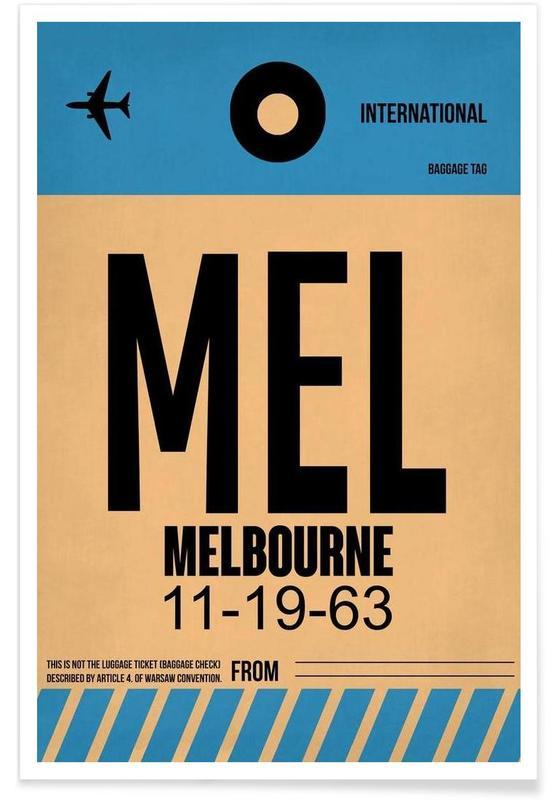 MEL-Melbourne affiche