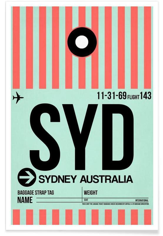 Voyages, SYD-Sydney affiche