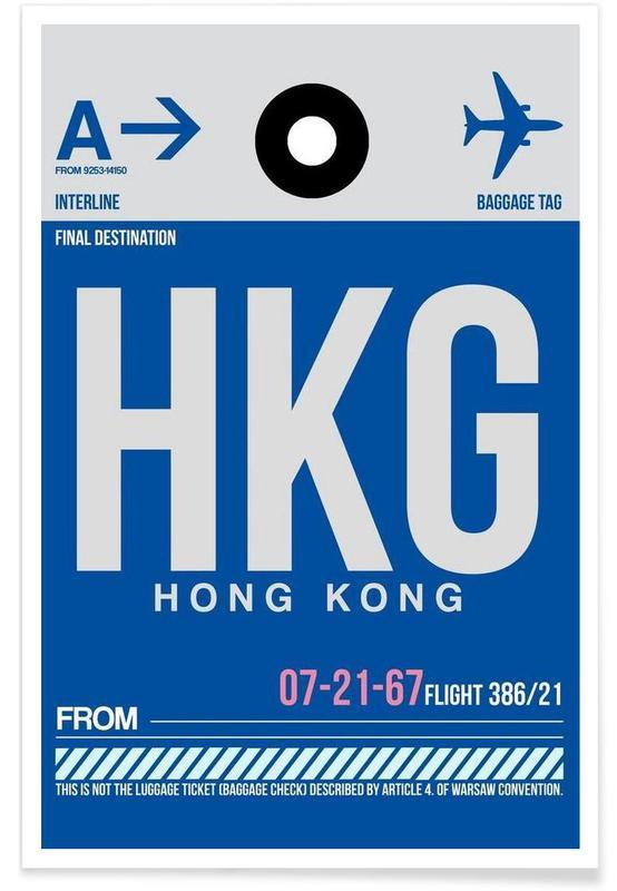 Voyages, HKG-Hongkong affiche
