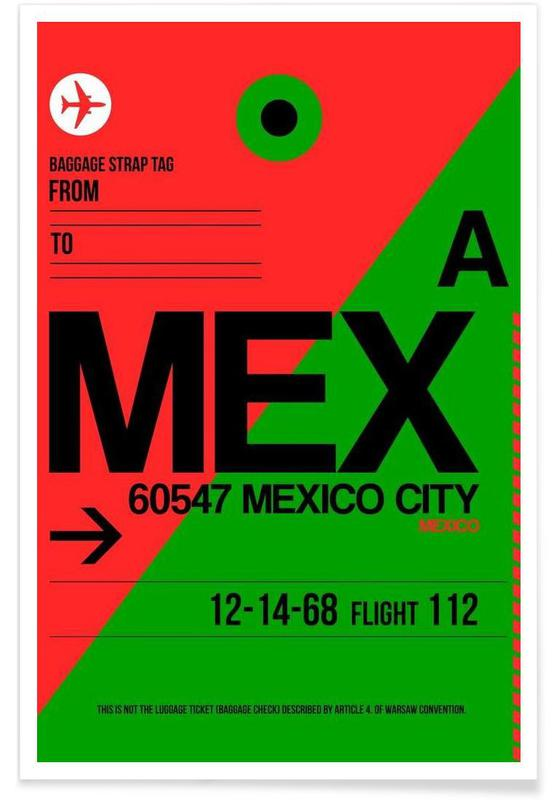 MEX-Mexico City Poster
