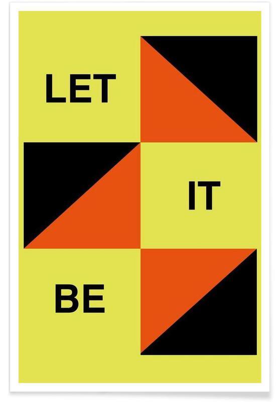 Songteksten, Let It Be poster