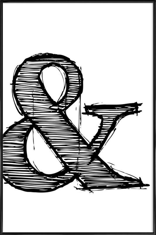 Ampersand Poster 1 Framed Poster