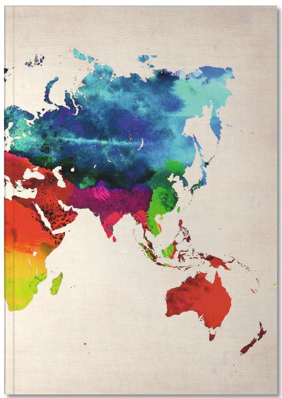 World Map Notebook