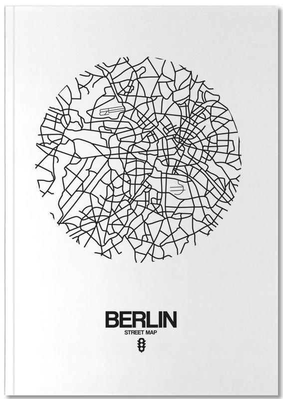 Berlin Street Map Notebook
