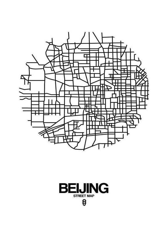 Beijing canvas doek