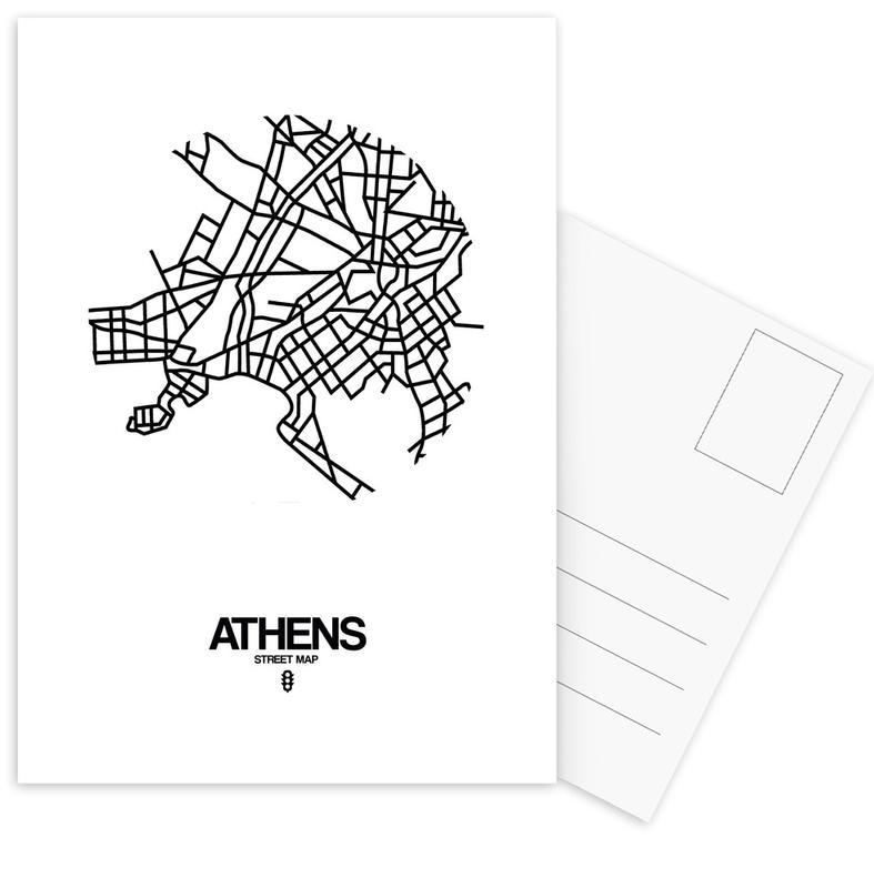 Athens Postcard Set