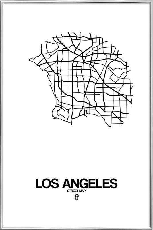 Sapin de Noël - Kwak Aron (Nu'Est) Los-Angeles-Naxart-Affiche-sous-cadre-en-aluminium