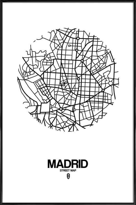 Madrid Framed Poster