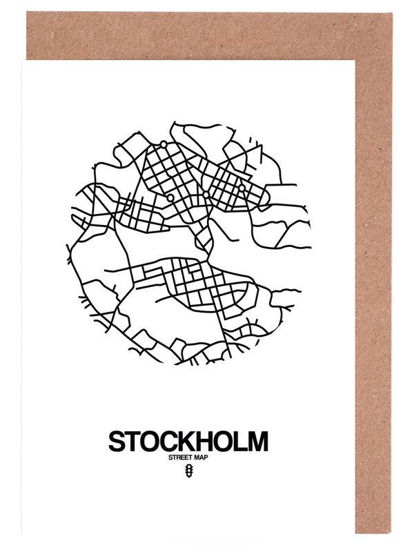 Stockholm -Grußkarten-Set