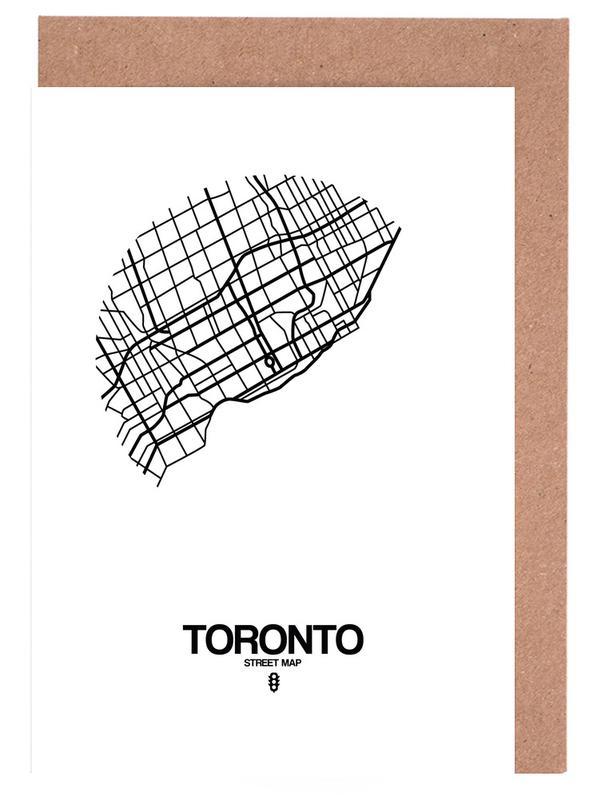 Zwart en wit, Toronto wenskaartenset
