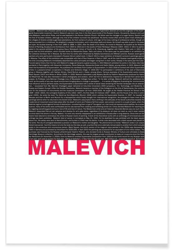 , Kasimir Malevich affiche
