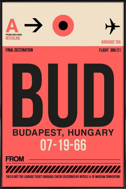BUD - Budapest Framed Poster
