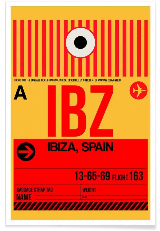 IBZ - Ibiza Poster