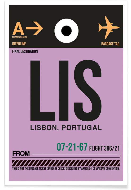 Travel, Lisbon, LIS - Lisbon Poster