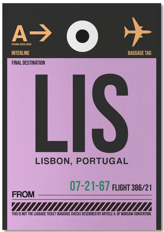 Travel, Lisbon, LIS - Lisbon Notepad