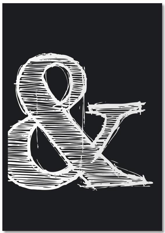 Ampersand Black Notebook