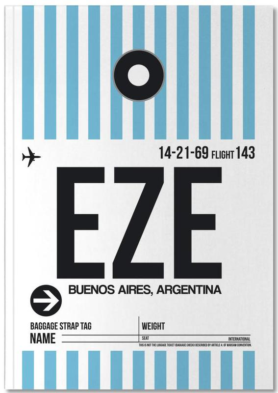 EXE Buenos Aires Luggage Tag I Notebook