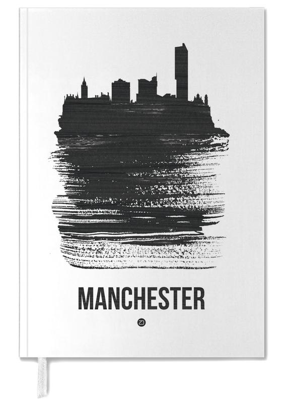 Manchester Skyline Brush Stroke -Terminplaner