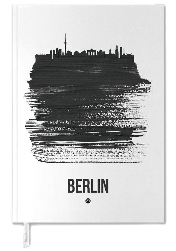 Berlin Skyline Brush Stroke -Terminplaner