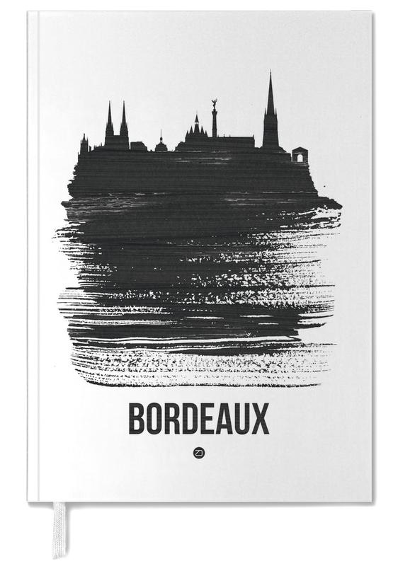 Bordeaux Skyline Brush Stroke Personal Planner