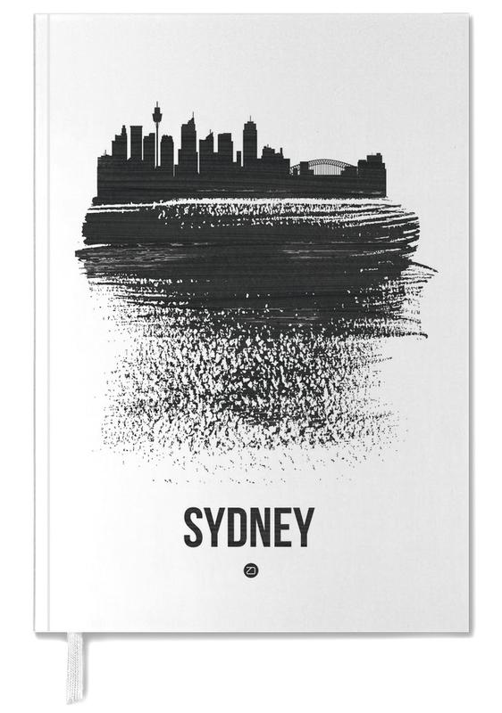 Sydney Skyline Brush Stroke -Terminplaner