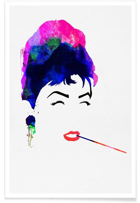 Audrey Hepburn, Audrey poster