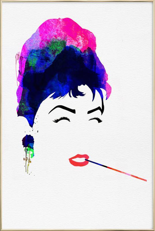 Audrey Poster in Aluminium Frame