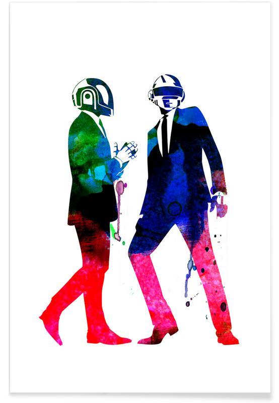 Daft Punk, Daft Punk Poster