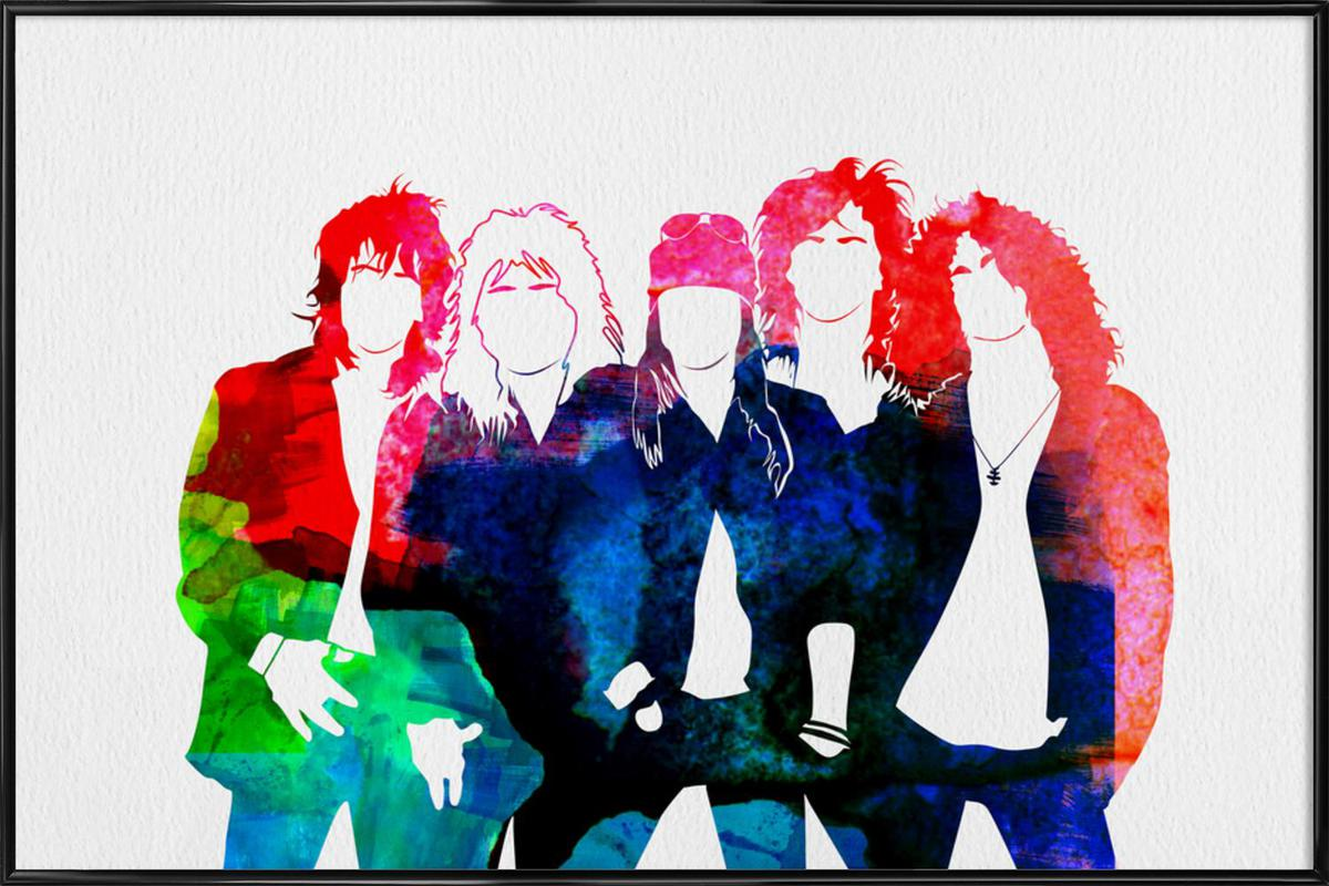 Guns N' Roses ingelijste poster