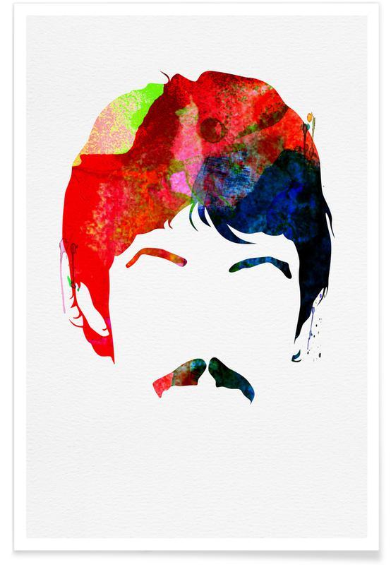 The Beatles, McCartney poster