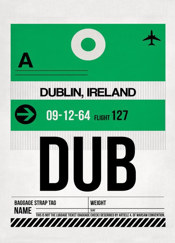 Dublin -Leinwandbild