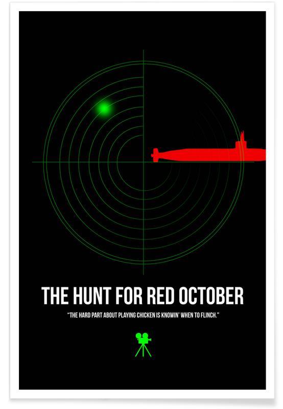Films, The Hunt For Red October poster