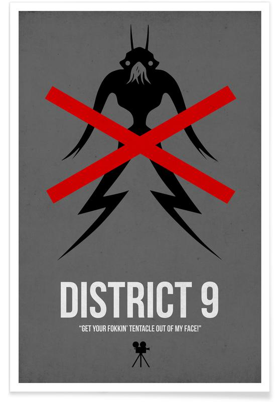 Films, District 9 affiche