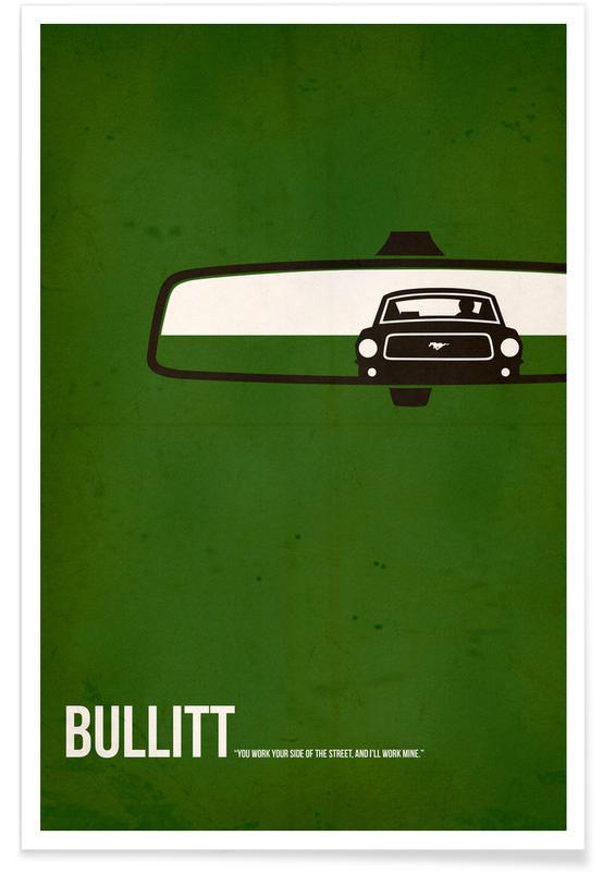 Movies, Bullitt Poster