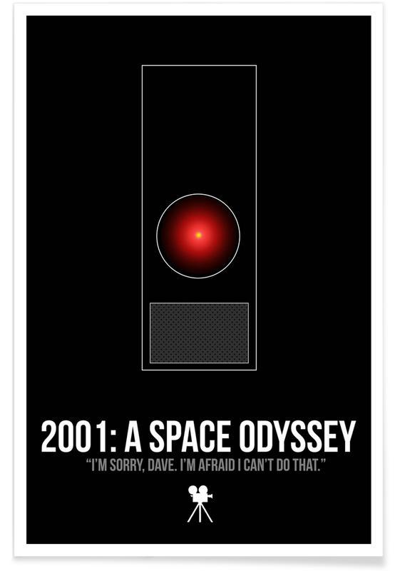 Films, 2001 Space Oddyssey affiche