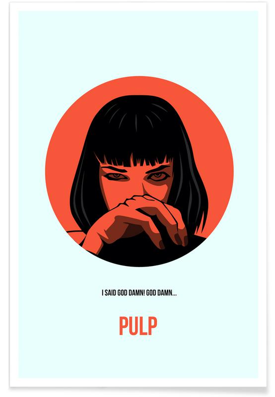 Movies, Pulp Fiction Poster