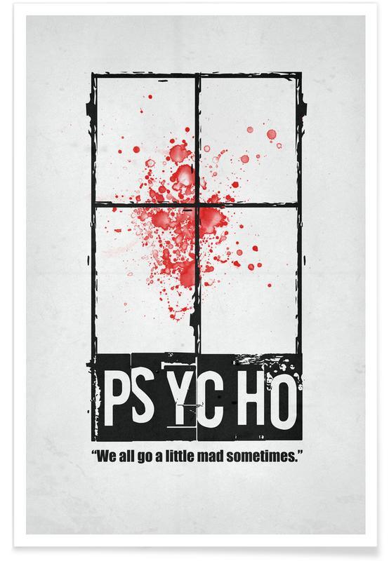 Films, Psycho poster