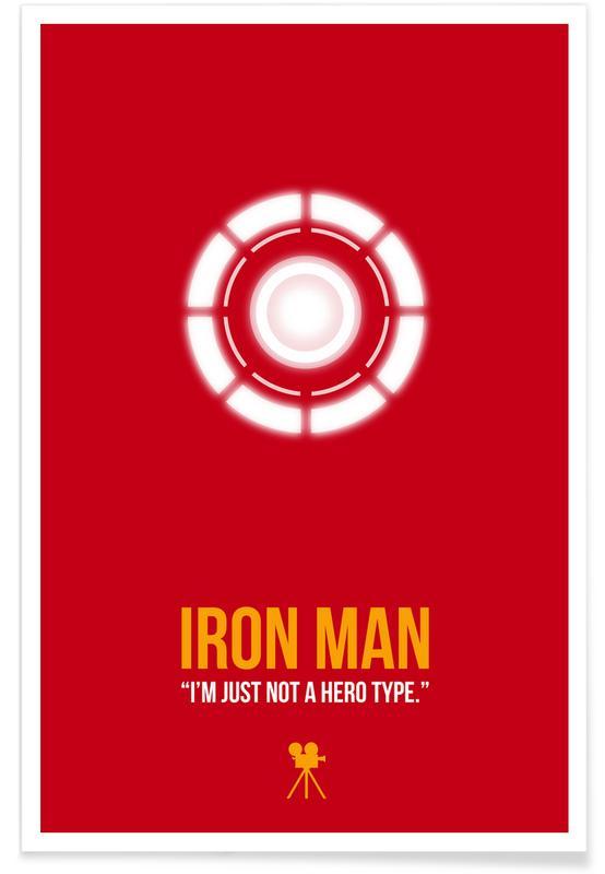 Movies, Iron Man Poster