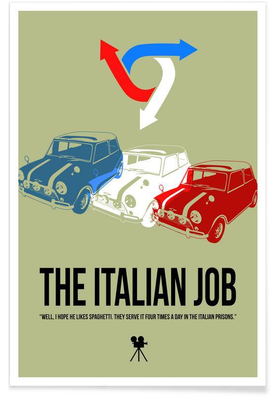 Films, The Italian Job affiche