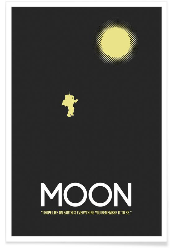 Films, Moon poster