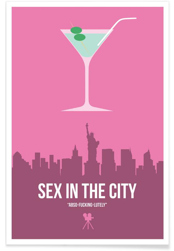 Movies, Sex In The City Poster