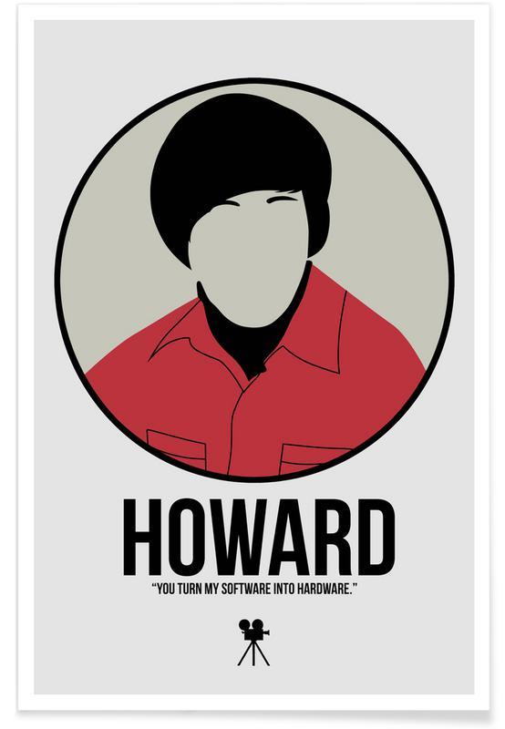 Films, Howard affiche