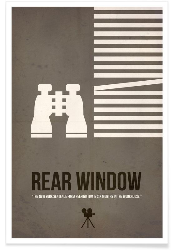 Movies, Rear Window Poster