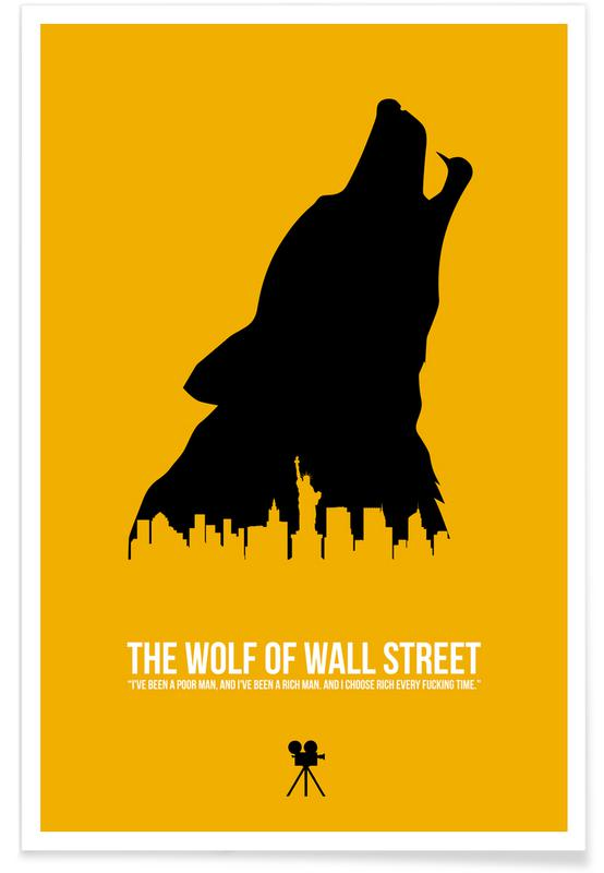 Films, The Wolf Of Wall Street poster