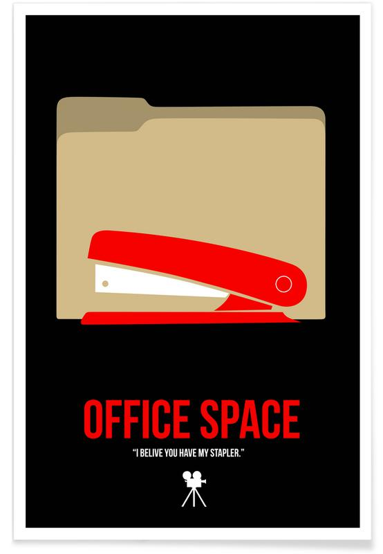 Movies, Office Space Poster