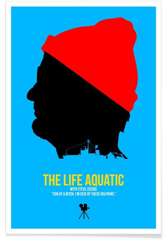 Films, The Life Aquatic affiche