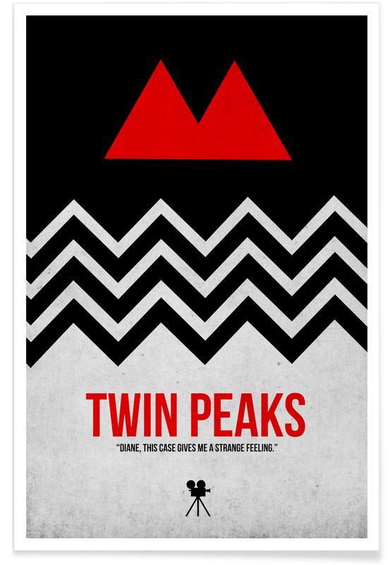 Films, Twin Peaks affiche