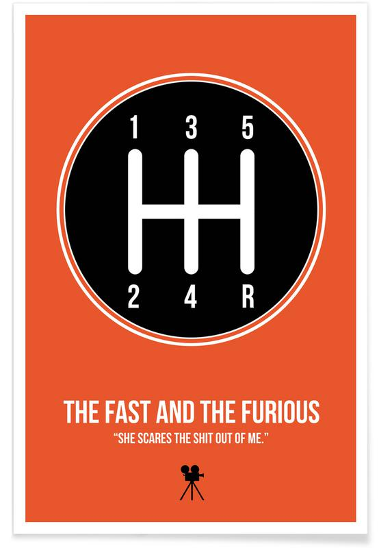 Films, The Fast And The Furious affiche