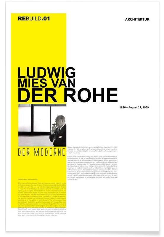 , Mies Van Der Rohe affiche